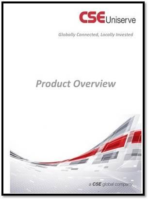 CSE Uniserve Product Overview