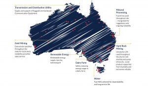 Case studies map